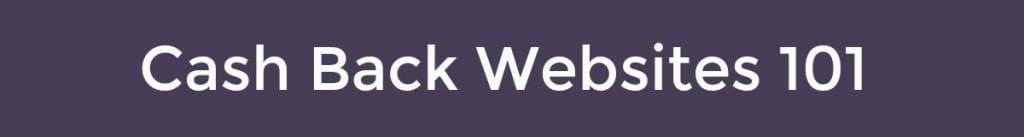 cashback websites