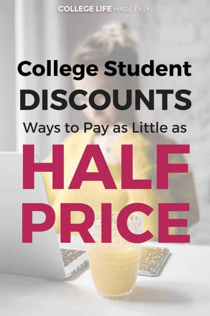 College Student Discounts: Ways to Pay as Little as Half Price! | Awesome Budget Tips to Save Money |
