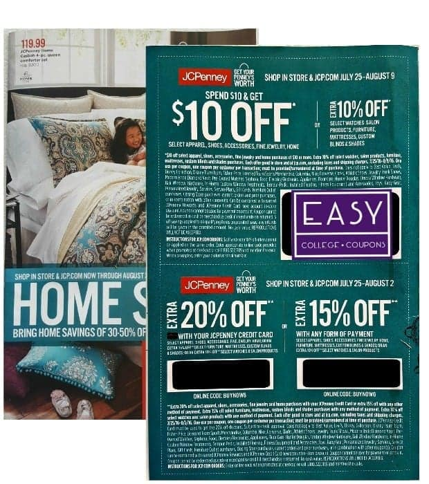 *NEW* $10 off $10 JCPenney Coupon!
