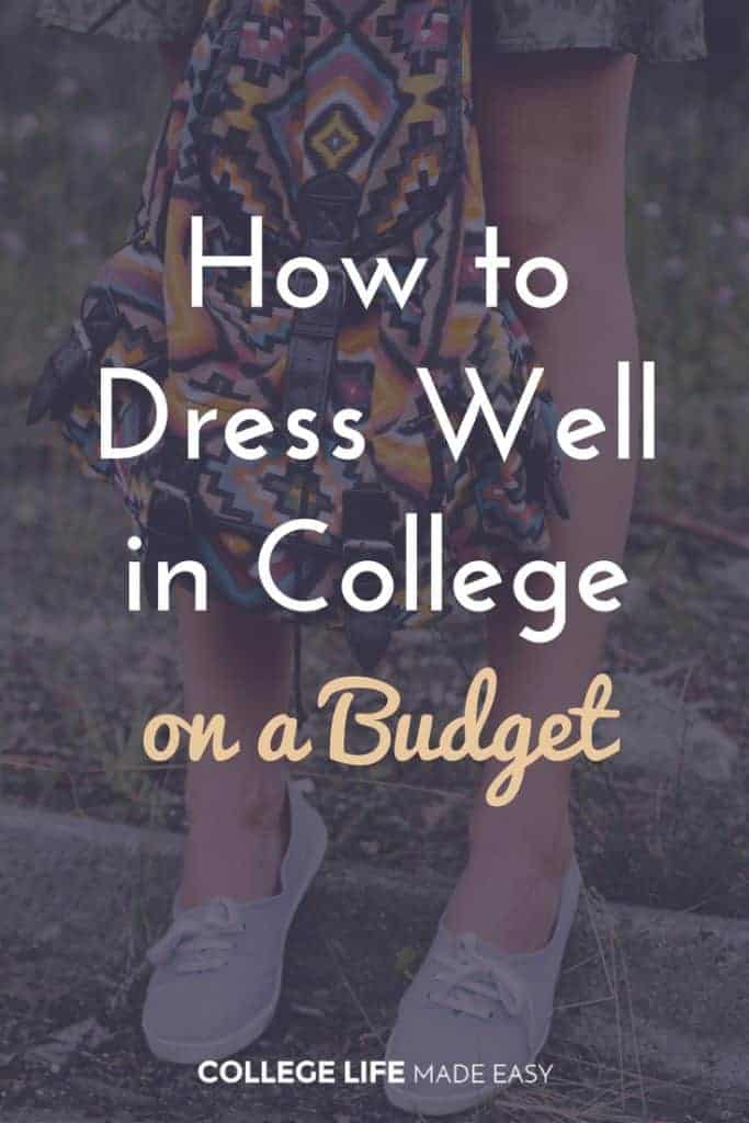 Dress Well in College