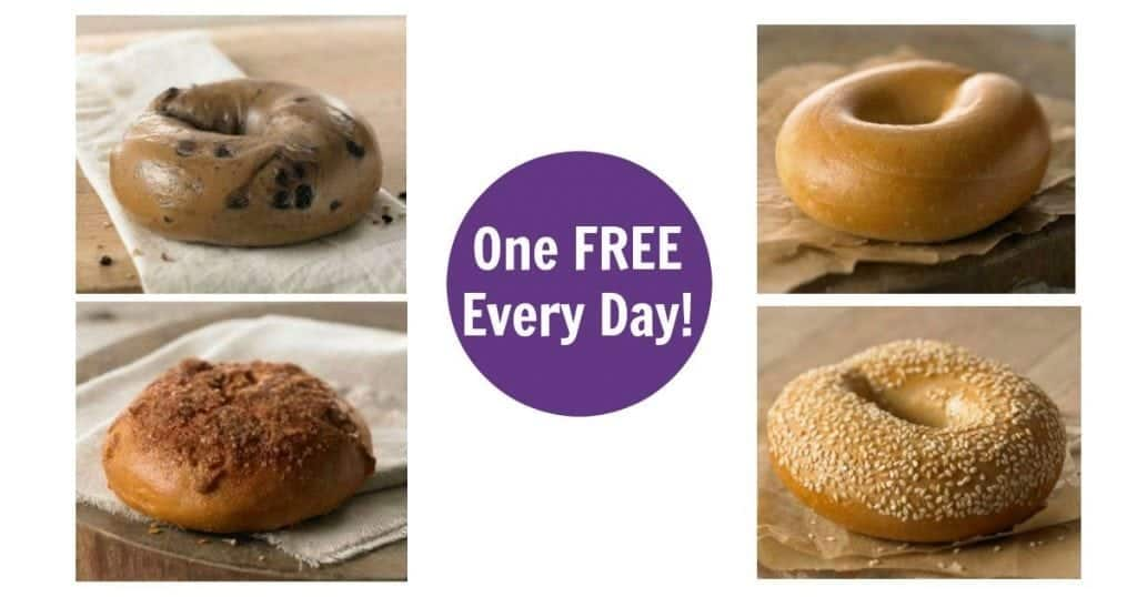 Possible Free Bagel Every Day on January at Panera!