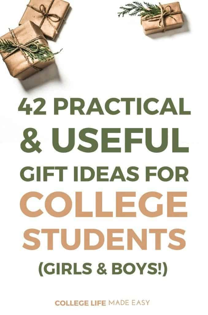 42 practical useful gift ideas for college students that girls boys will love