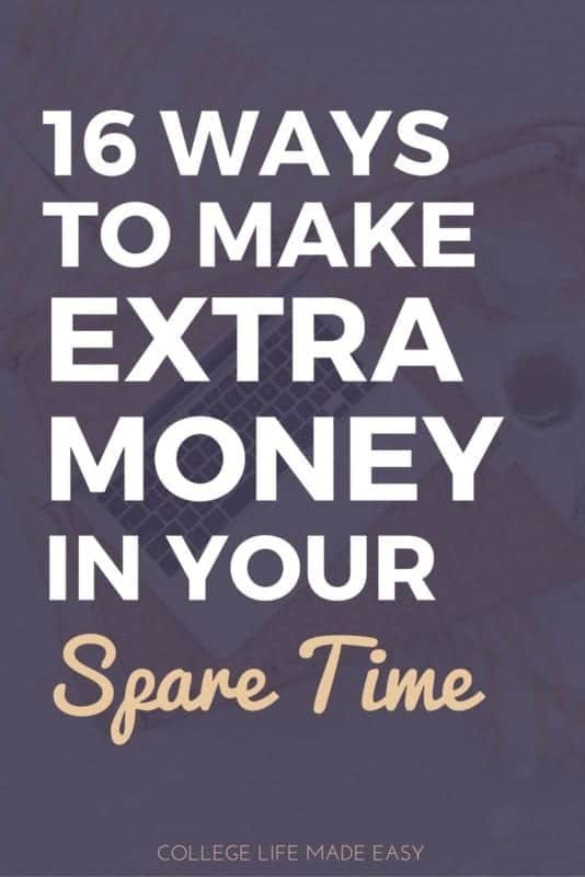 16 easy ways to make money in your spare time