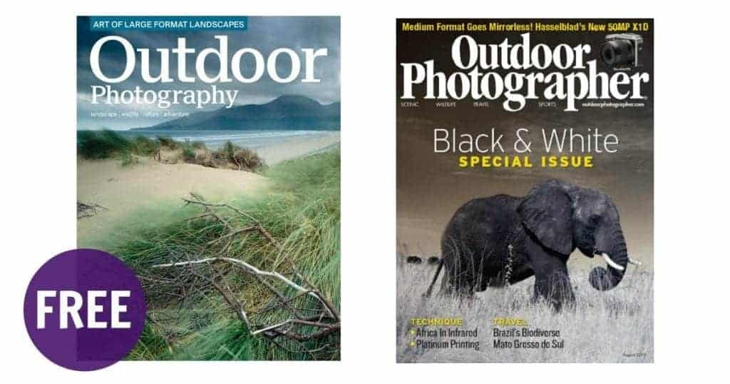 FREE Subscription to Outdoor Photographer Magazine