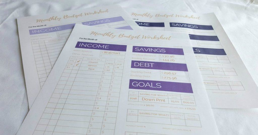 budget template, monthly budget template
