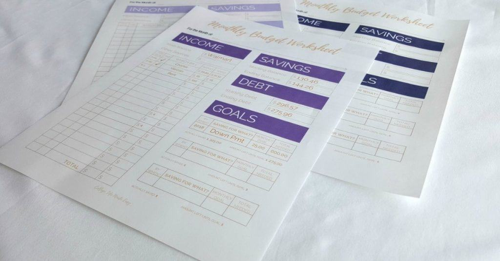 simple budget template, monthly budget template