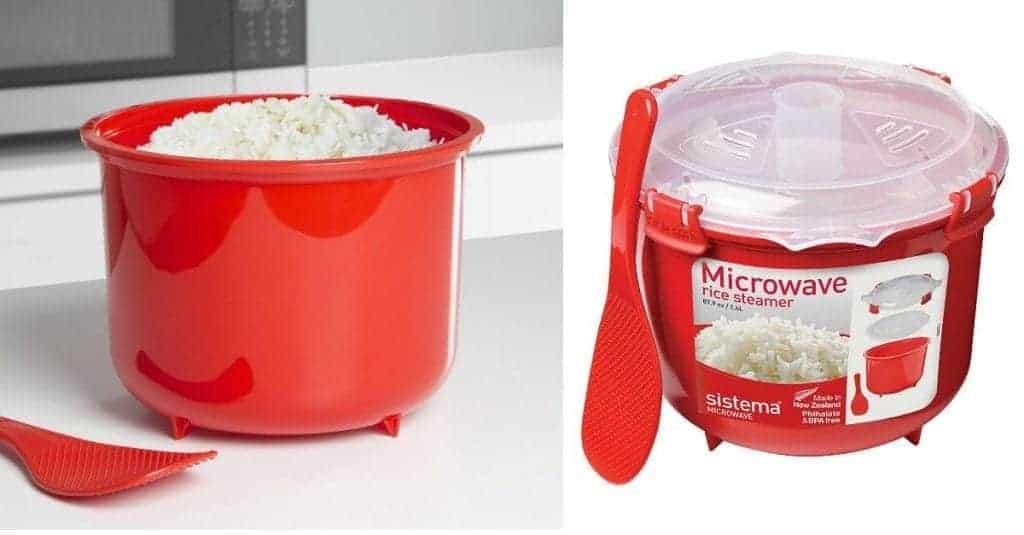 $11.80 Sistema Microwave Rice Steamer on Amazon
