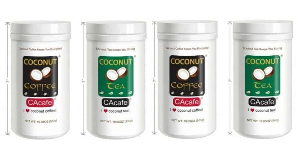 FREE Sample of CAcafe Coconut Coffee & Tea