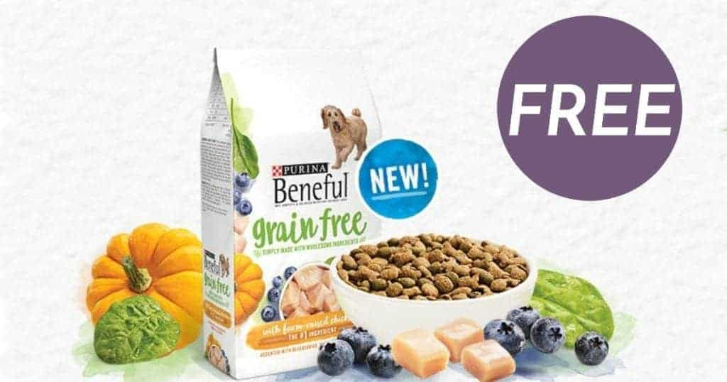 FREE Sample of Purina Beneful Grain Free Dog Food