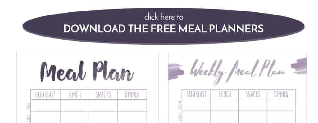 Meal Planners Click button