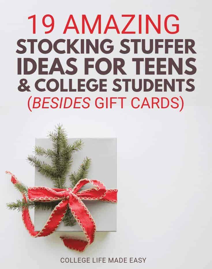 Stocking Stuffers for Teens & College Students