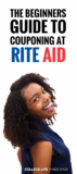 The Beginner's Guide to Couponing at Rite Aid 1