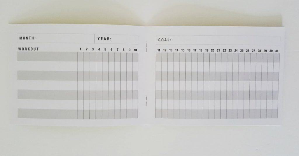 goal tracker notebook, goal planner