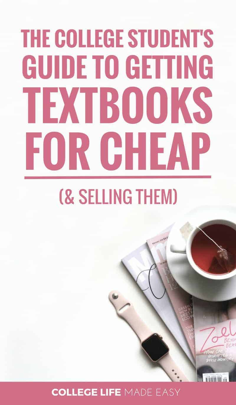 The College Student's Guide to Getting Textbooks for CHEAP Online (& Selling Them!)
