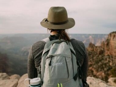 bucket list ideas for college students - woman canyon