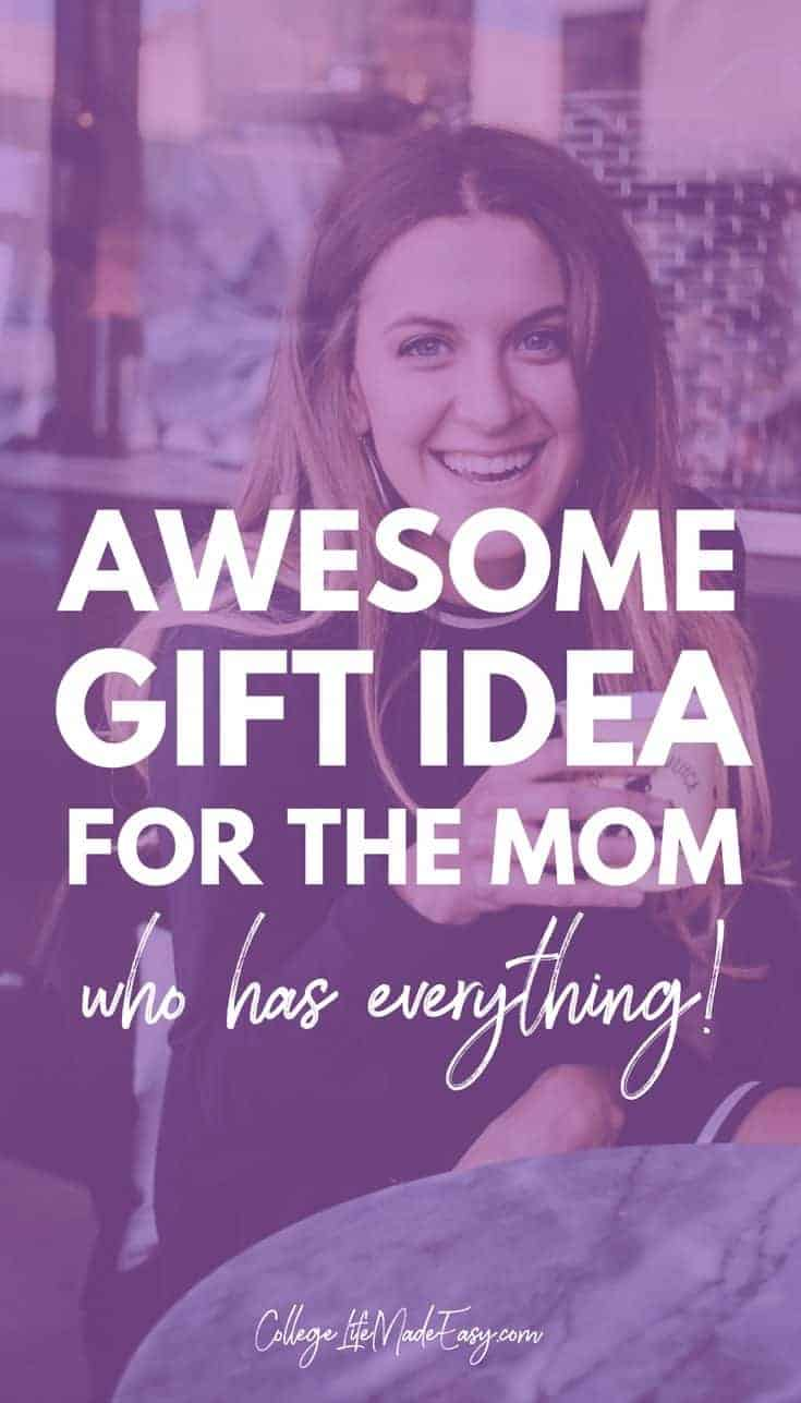 Moms are already hard to shop for, but a mom who has everything? It's almost an impossible task! I know what a struggle shopping for Mother's Day and other holidays (i.e. her birthday) can be.