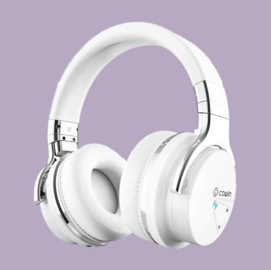 white over the ear headphones