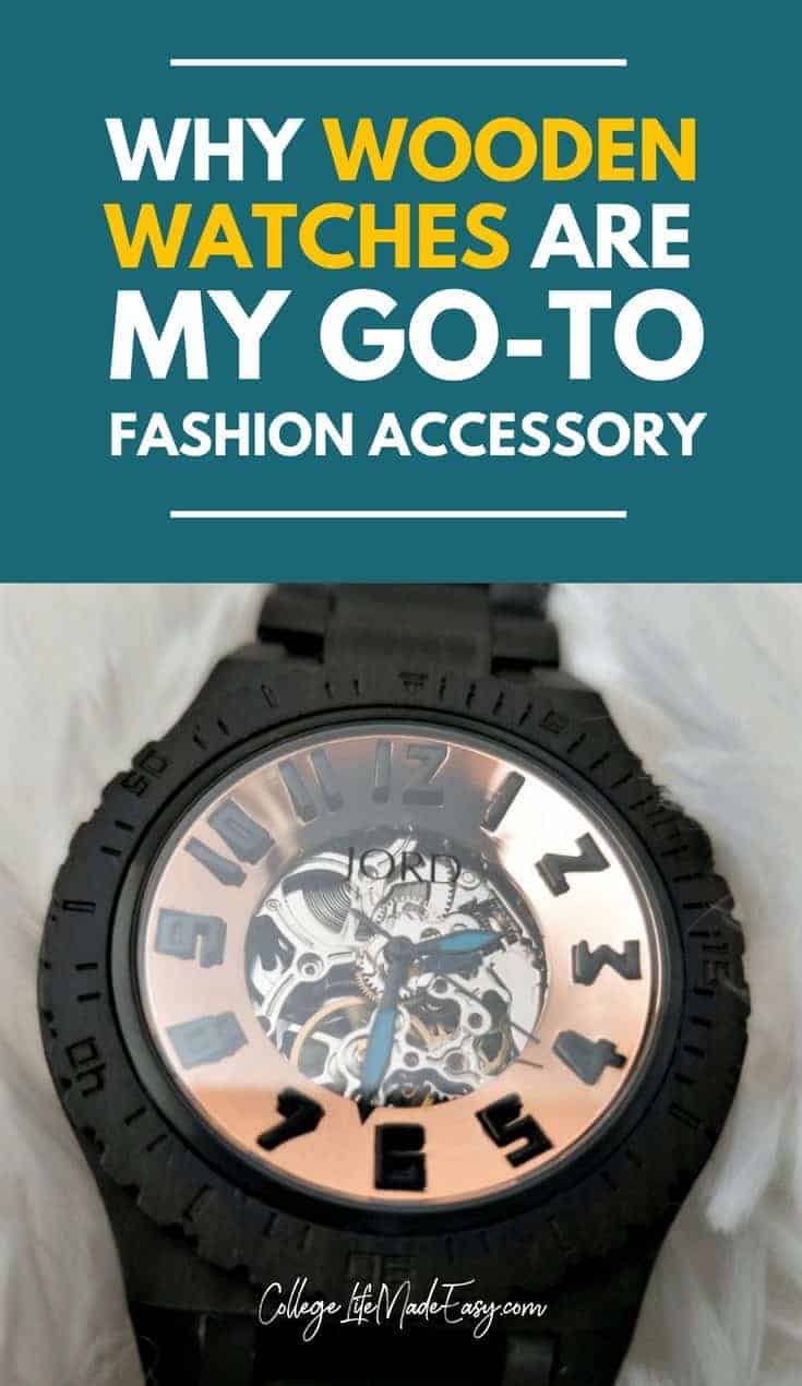 Searching for the perfect unique fashion accessory? I say go for a beautiful, handmade wooden watch to really achieve that \'WOW\' factor!  THESE watches for women and for men, perfectly embody simple, minimalist style, too. Click to see why I LOVE them! #watches #style #fashion #menstyle #womenstyle #sponsored