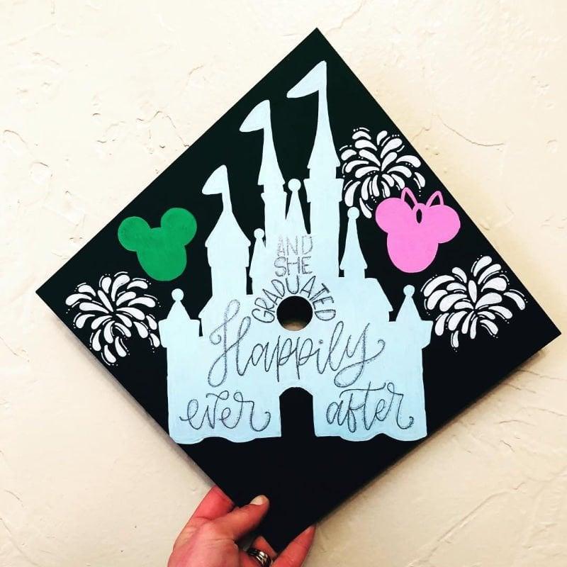 disney graduation cap ideas