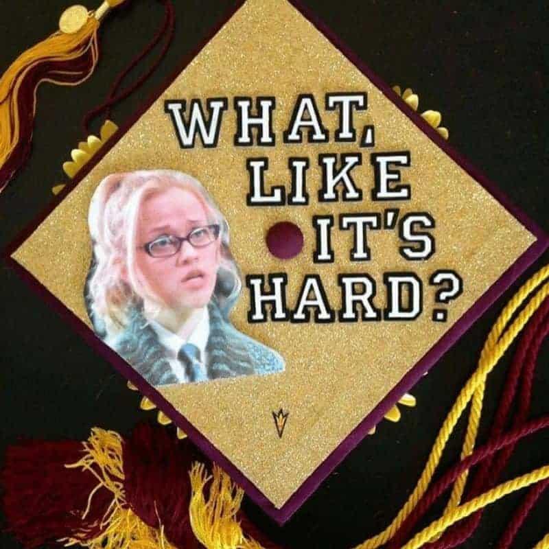 best graduation cap ideas - legally blonde