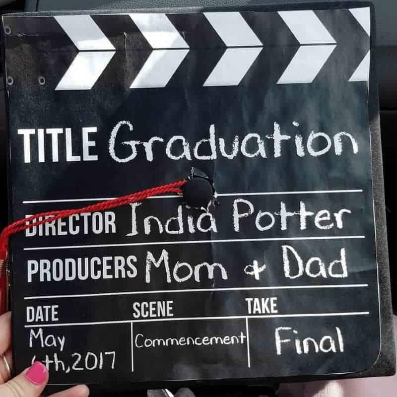 ideas for graduation cap - movie cut