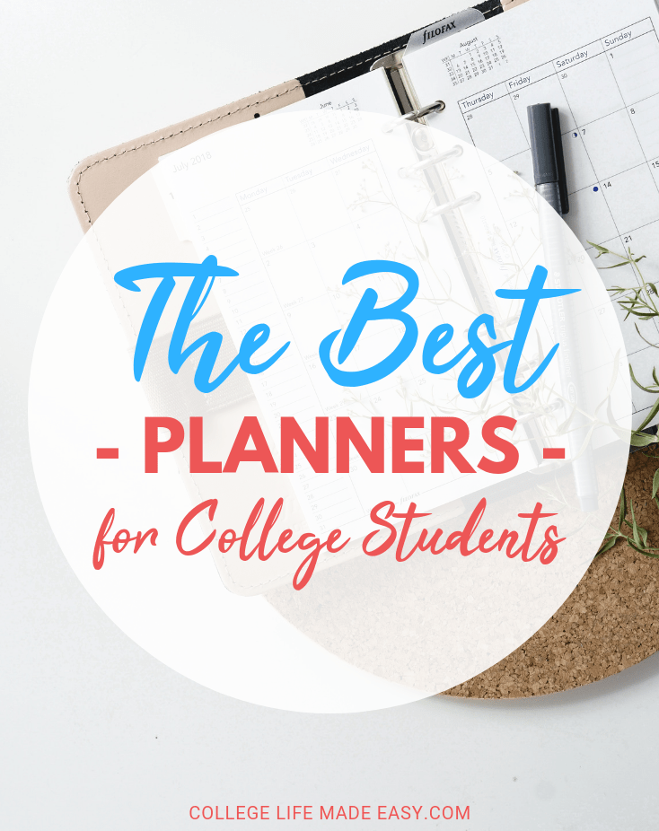 the best college planners to use for maximum student organization