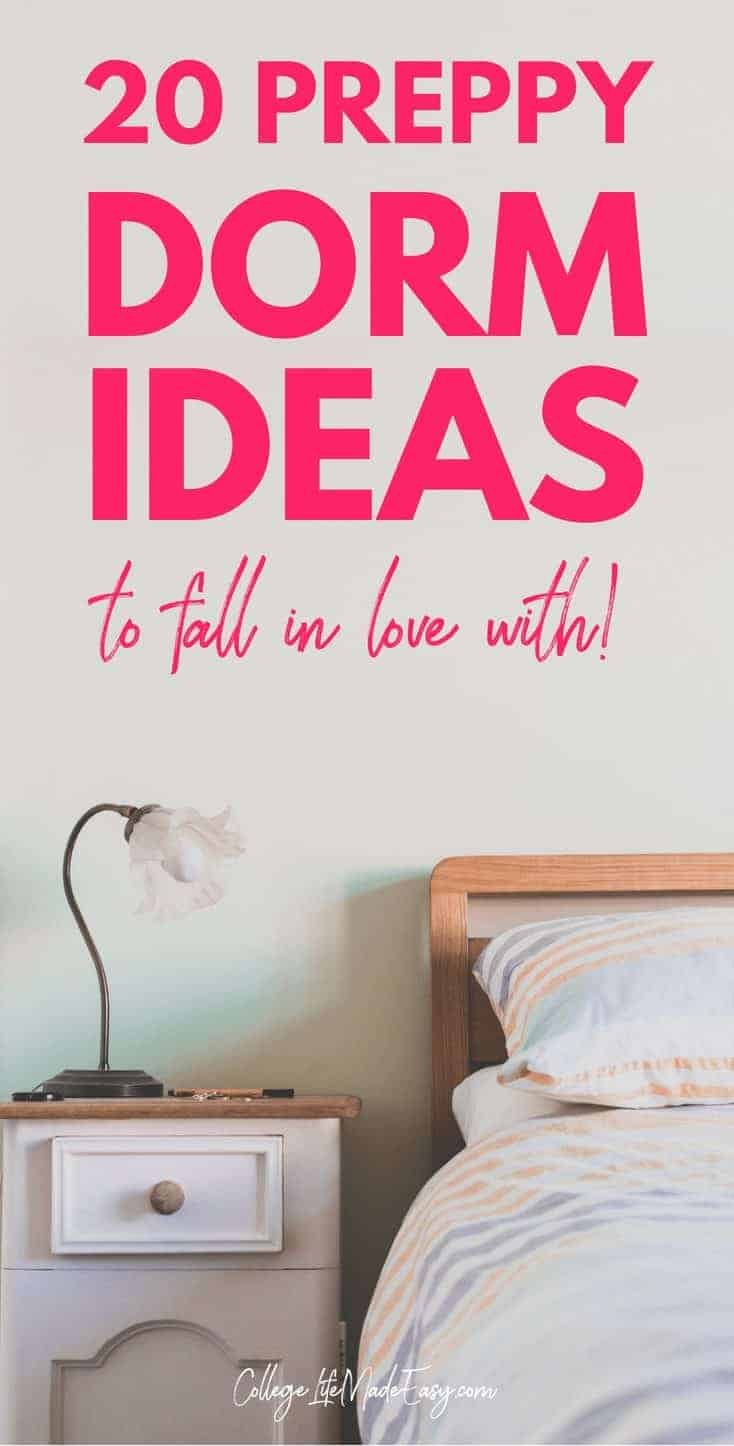 preppy dorm room decor: 20 ideas to fall in love with
