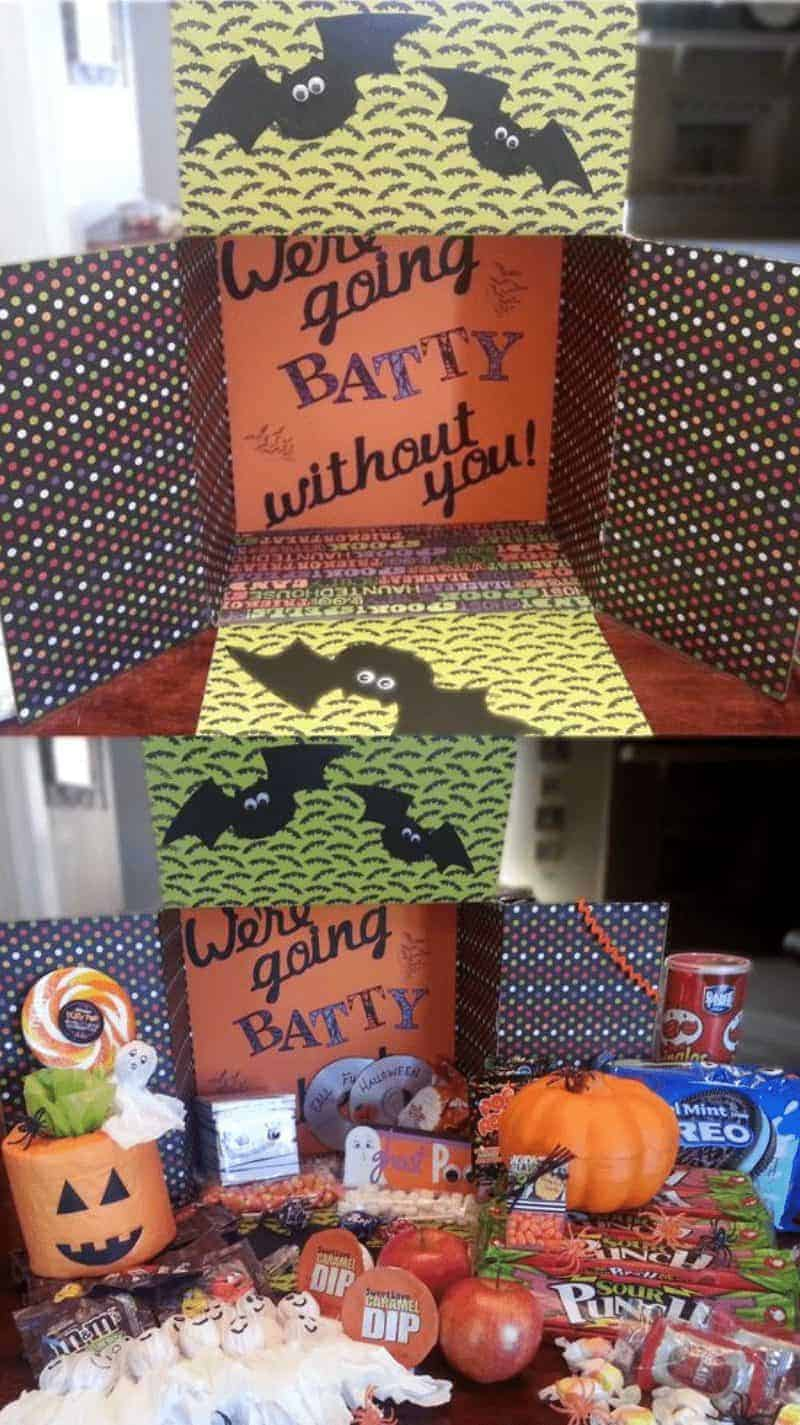 ideas for Halloween Care Packages