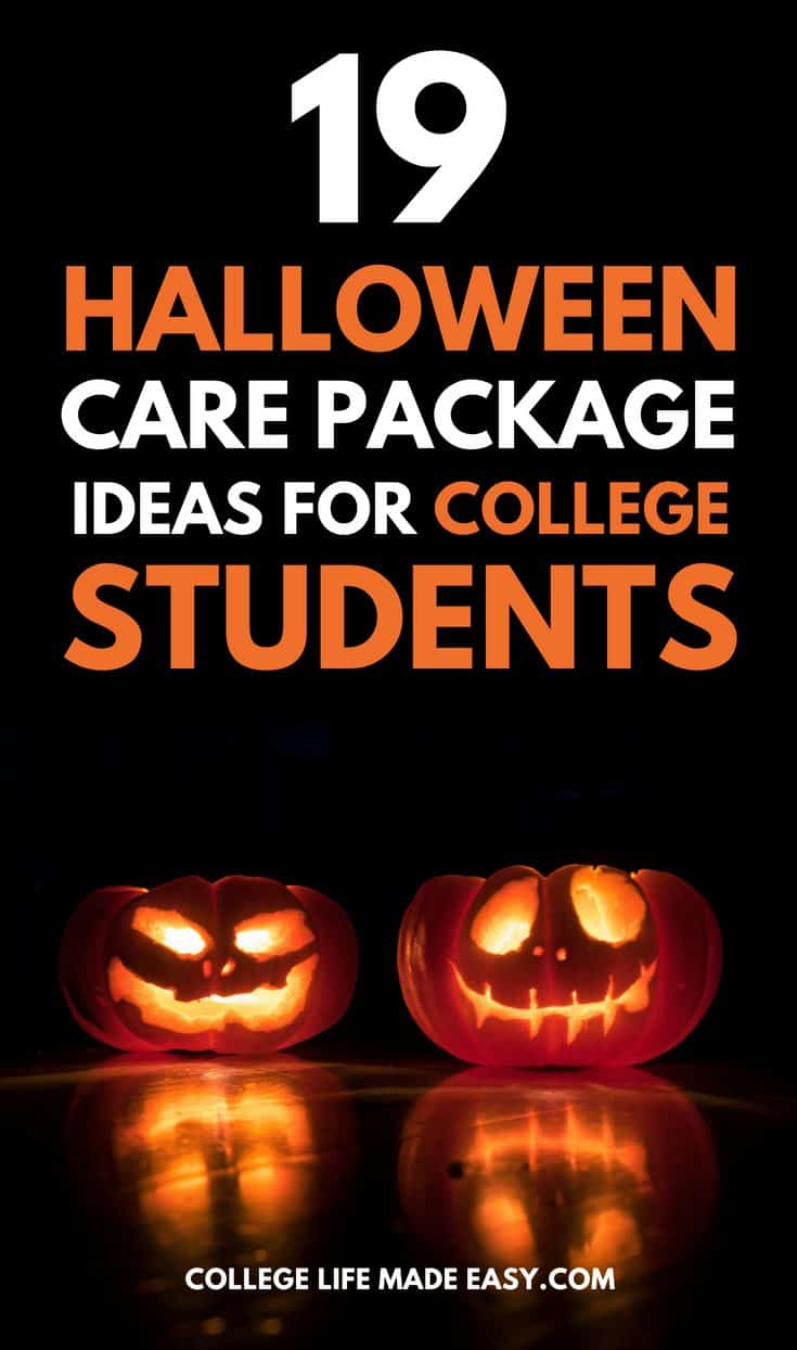 19 Spooky & Fun Halloween Care Package Ideas for College Students