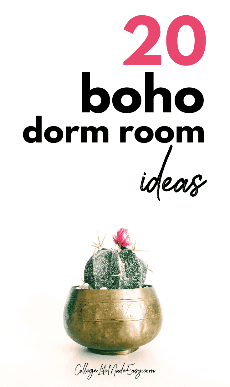 20 Boho Dorm Ideas to Inspire the College Hipster Bedroom of Your Dreams