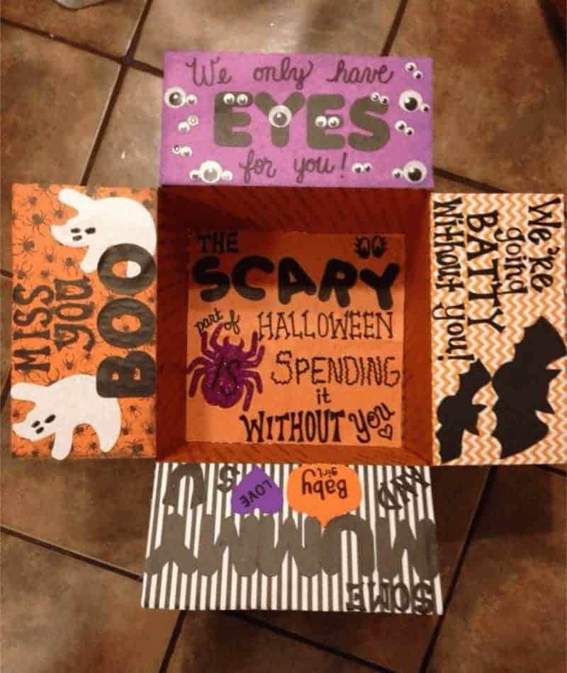 Christmas Gift For College Student: 33 Amazing Halloween Care Package Ideas For College Students