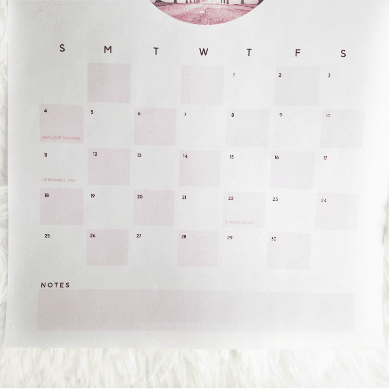 FREE 2018 - 2019 Printable Calendar