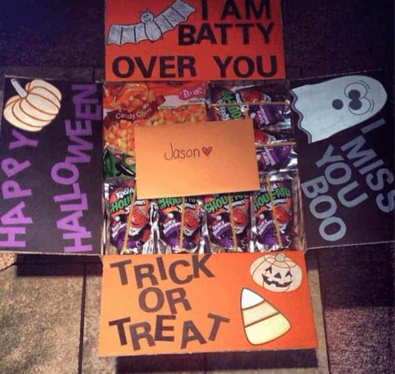 halloween care packages for college students