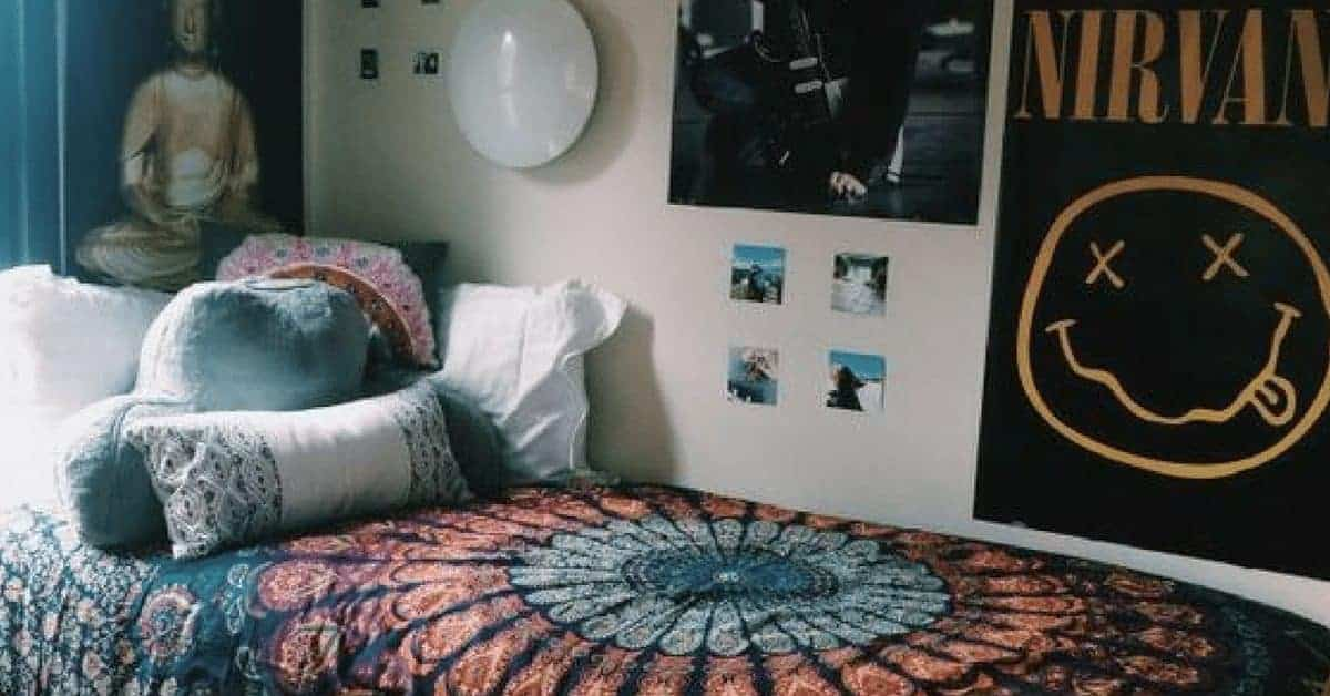 20 Boho Dorm Ideas to Inspire the College Hipster Bedroom of Your Dreams 4