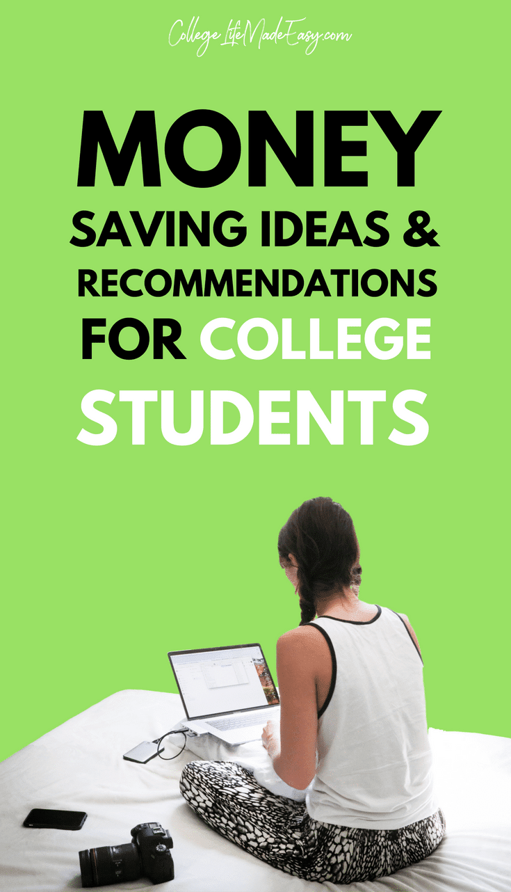 money saving ideas college students