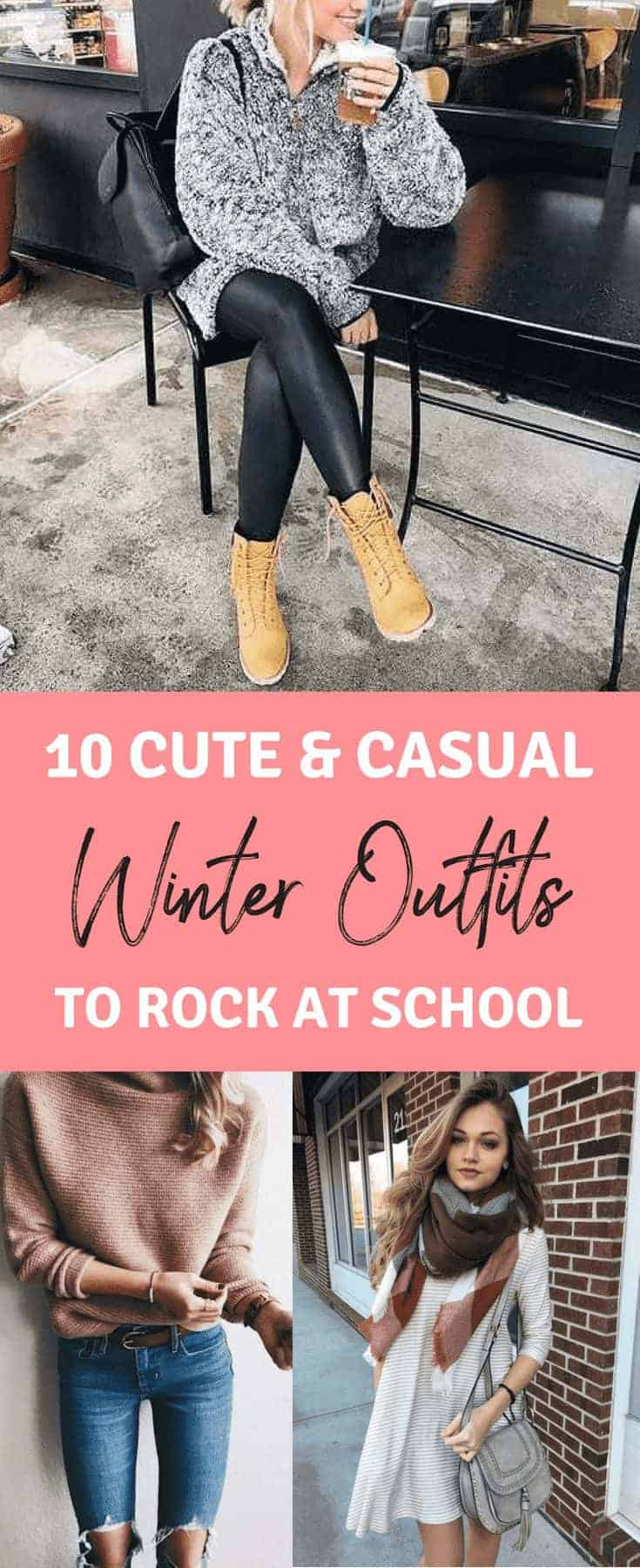 10 Cute & Casual Winter Outfits to Rock in Cold Weather