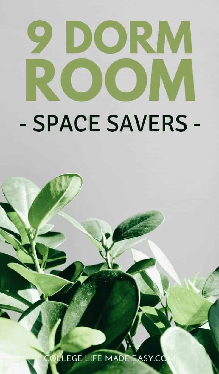 9 Ideas for Dorm Space Savers to Make Your College Room Feel So Much Bigger