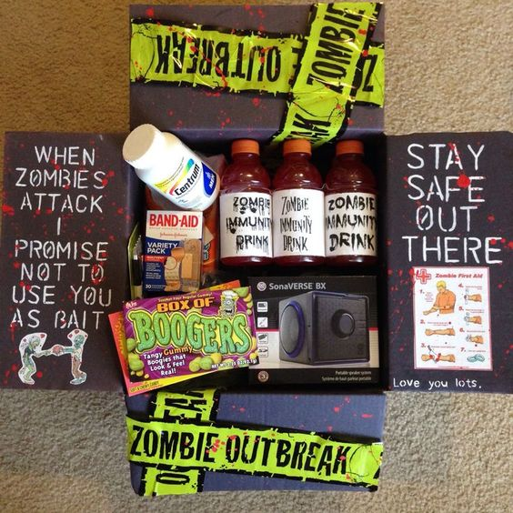 Zombie outbreak care package
