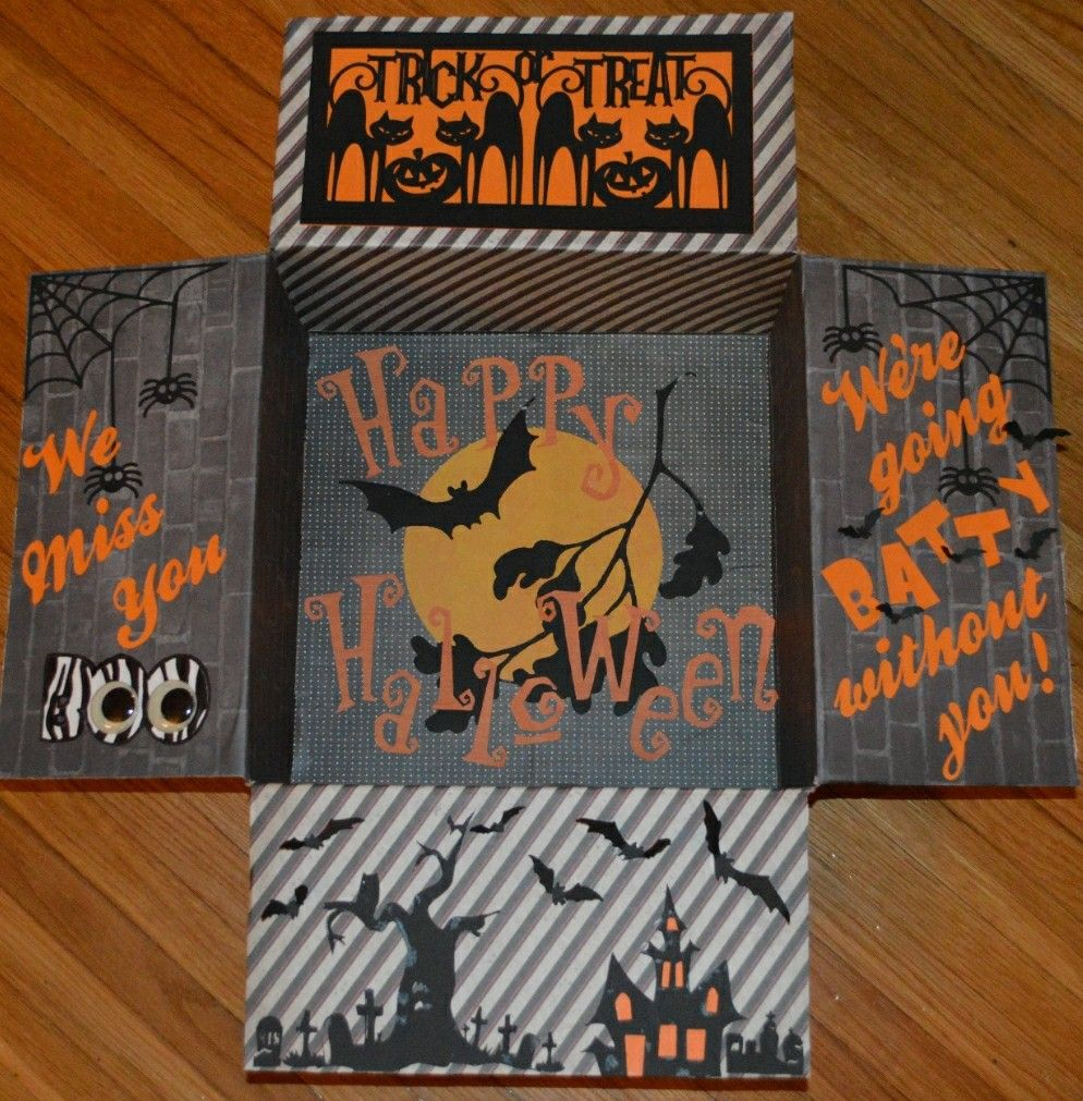 college care package idea for Halloween