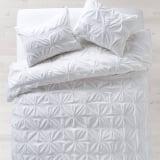 White Soft Loft Duvet and Sham Set