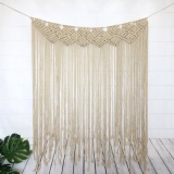 Long Style Modern Macrame Handmade Wall Hanging Macrame Curtain Wall Art Abstract Wall Art Wall Tapestry Boho Decor