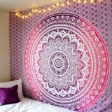 Indian Mandala Wall, purple decor