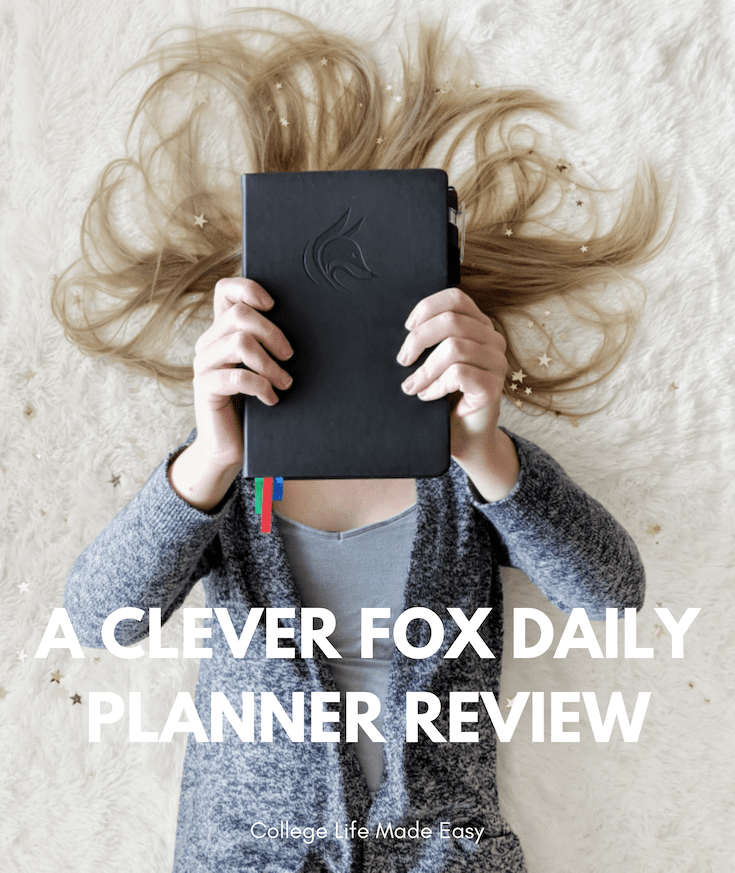 clever fox planner review, where to buy, amazon, college schedule planner
