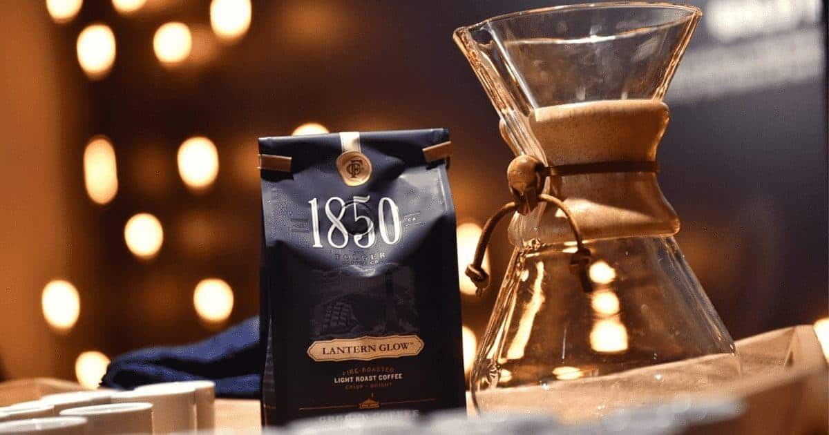 Free Sample of 1850™ Brand Coffee!
