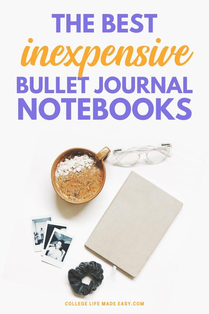 11 Cheap Bullet Journal Notebooks We're Obsessing Over 2