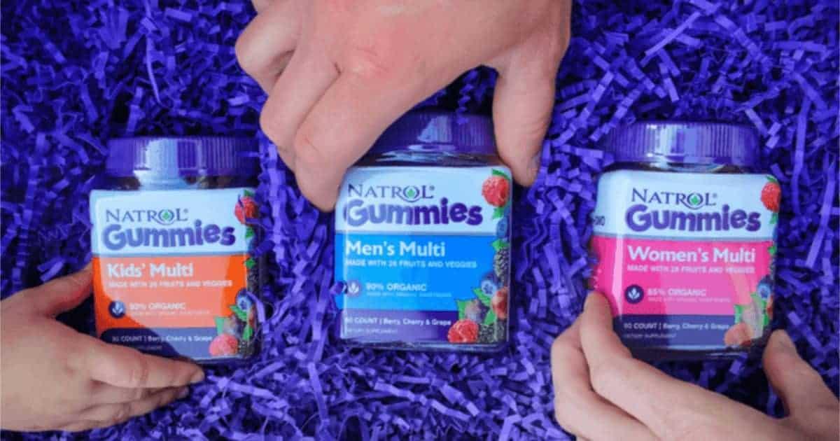 Natrol Gummies Vitamins (90-Count) = FREE After Mail in Rebate!