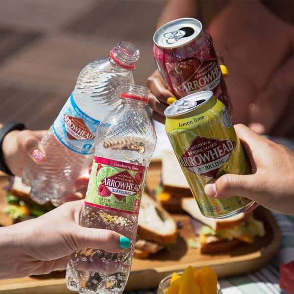 FREE Sparkling Natural Spring Water 8 Pack!