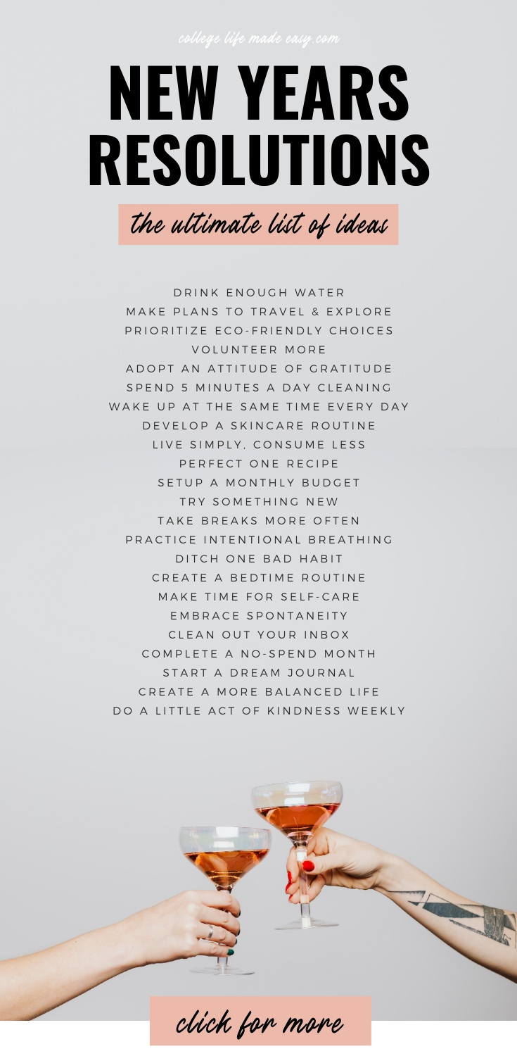 70 Truly Good New Year S Resolutions Top Ideas For 2021