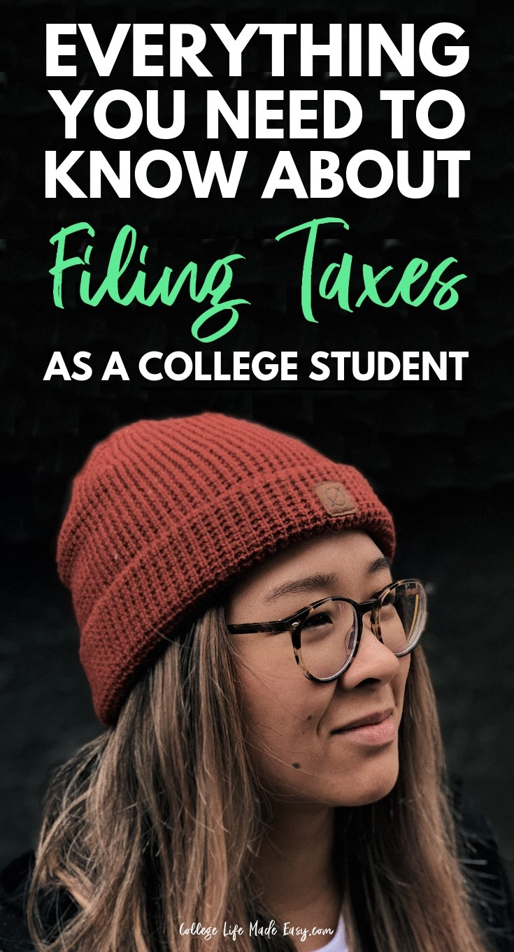 Tax tips for college students and those who are filing taxes on their own for the first time. Get all your questions about deductions, write-offs and more answered here. Click to read the full guide about filing taxes for students! #taxes #college #collegelife #money #moneytips #finance