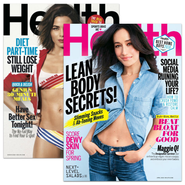 FREE 1 Year Subscription to Health Magazine